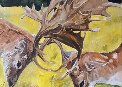 Two Stags by Tanya Montandon